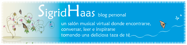 Sigrid Haas, blog personal