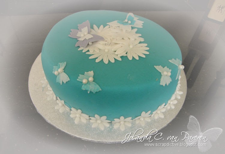 scrapdictive taart decoratie