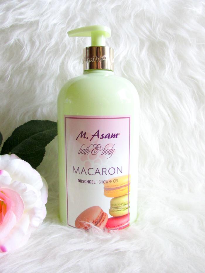 Review: M.Asam Macaron Duschgel - 750 ml - 18.75 Euro