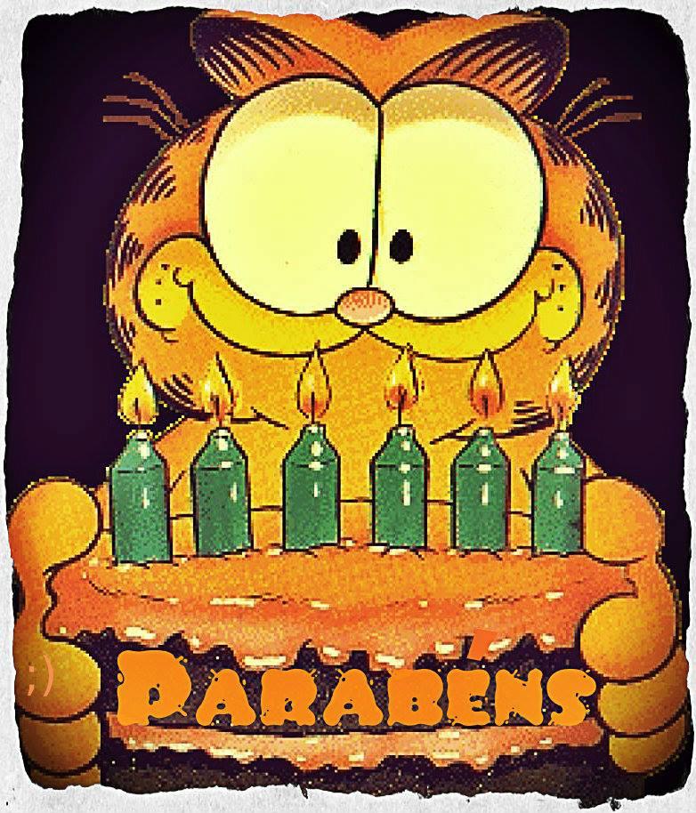 Garfield Parabéns