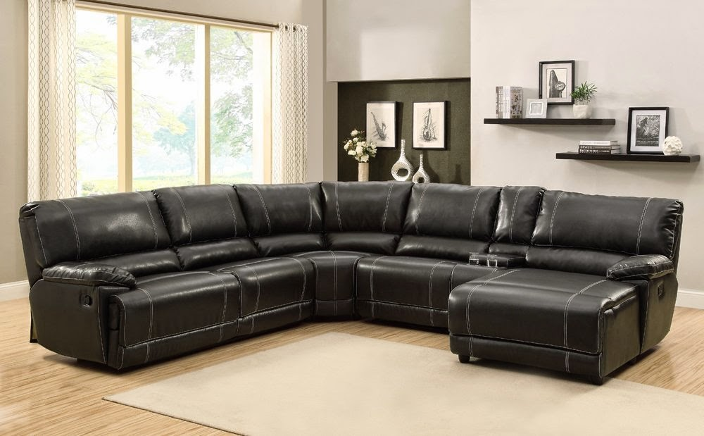 The best reclining sofa reviews loukas extra long for Chaise long sofa
