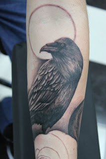 crow tattoo pictures