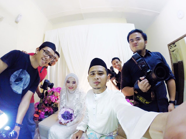 Gambar Pernikahan Imam Muda Najdi dan Dr Norazreen