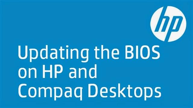 شرح تحديث البيوس BIOS لحواسيب COMPAQ و HP من الموقع الرسمي