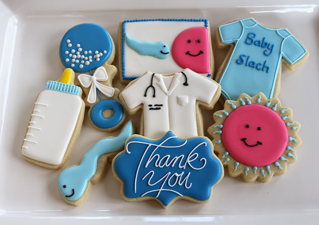 fertility doctor baby cookies