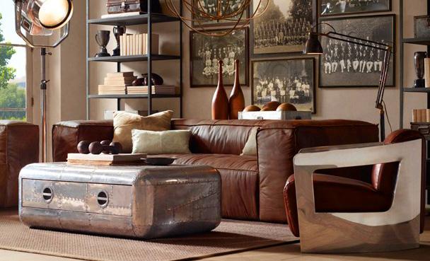 Estilo rustico muebles metalicos rusticos i for Muebles estilo rustico
