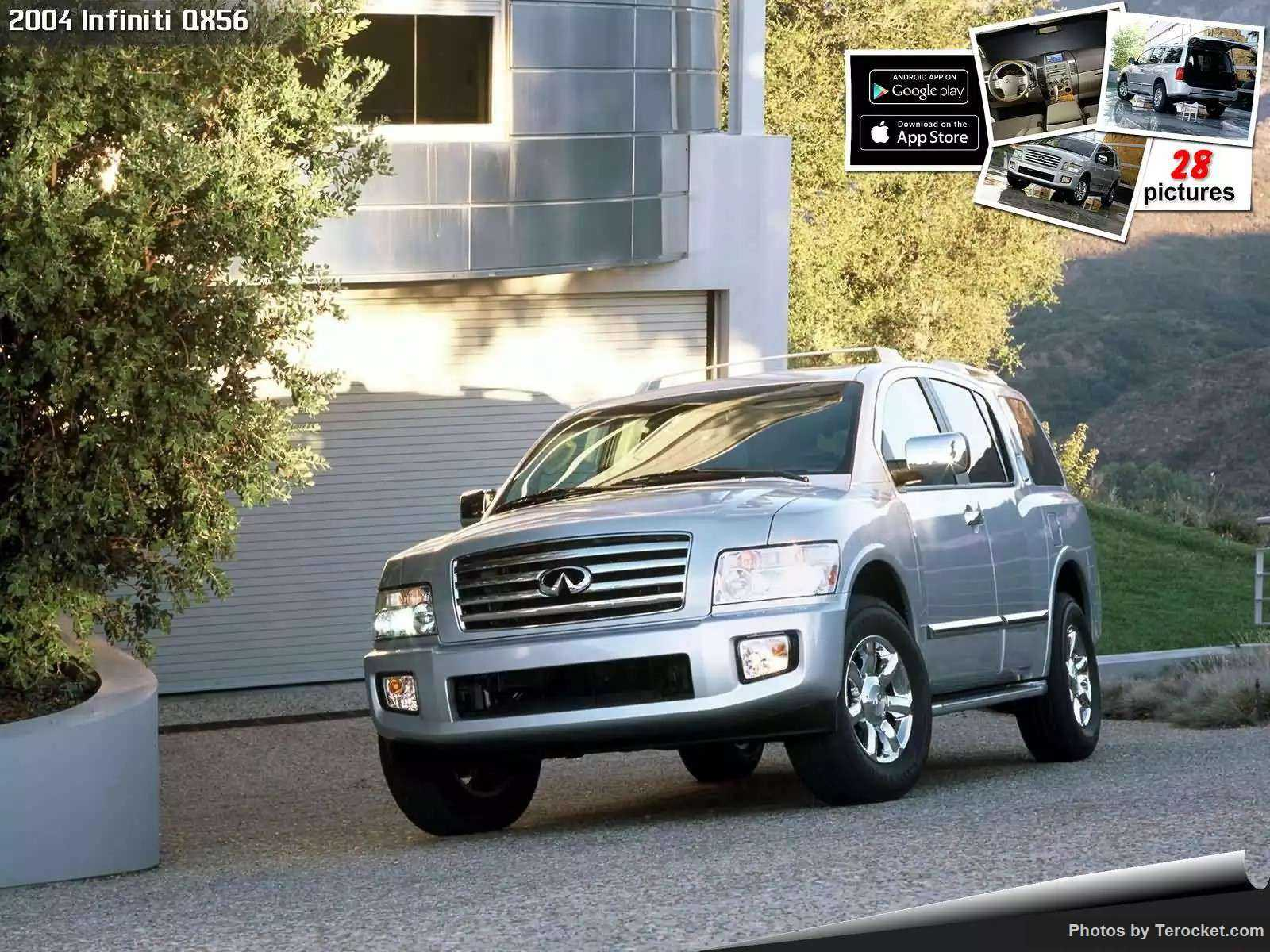 Hình ảnh xe ô tô Infiniti QX56 2004 & nội ngoại thất