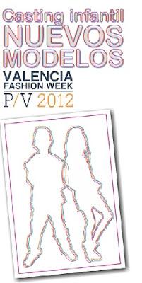 CASTING INFANTIL NUEVOS MODELOS 2012 VALENCIA FASHION WEEK