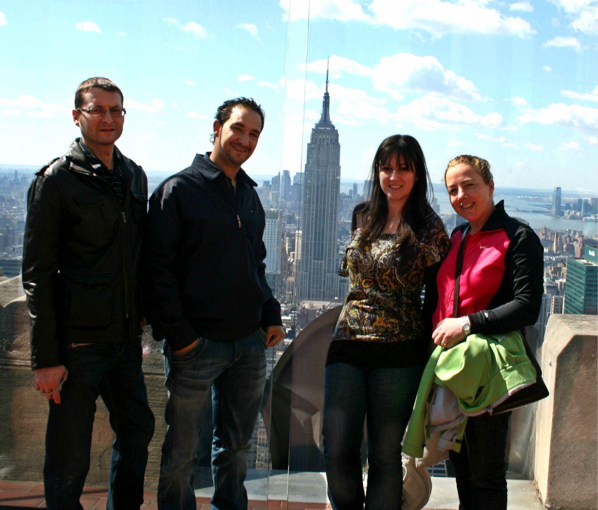 Manhattan y Empire State desde el Top of the Rock (TOR) en Nueva York