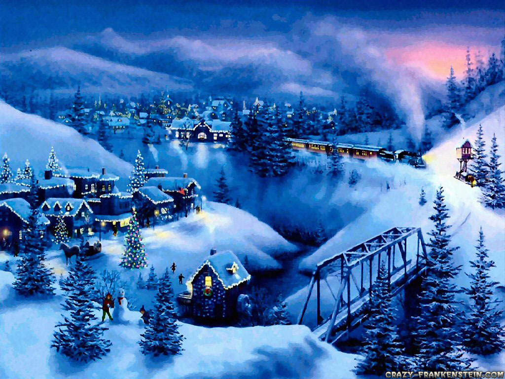 Christmas Snow Wallpaper hd gallery