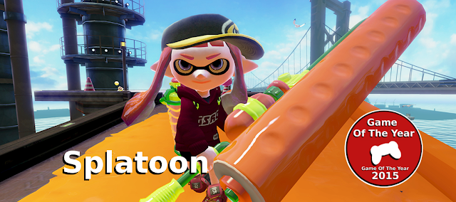 gamedropzone game of the year splatoon