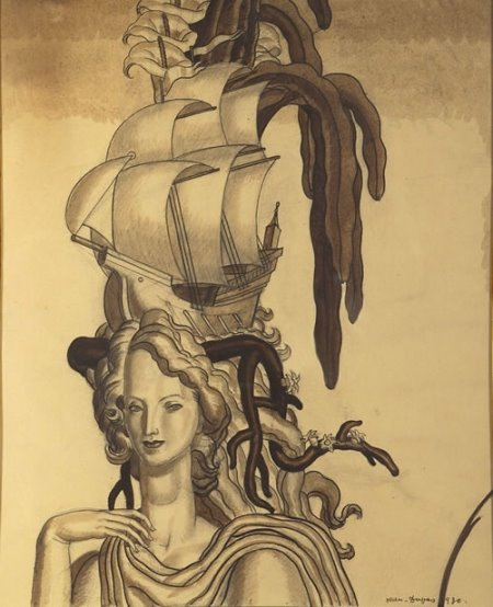 Jean Théodore Dupas woman