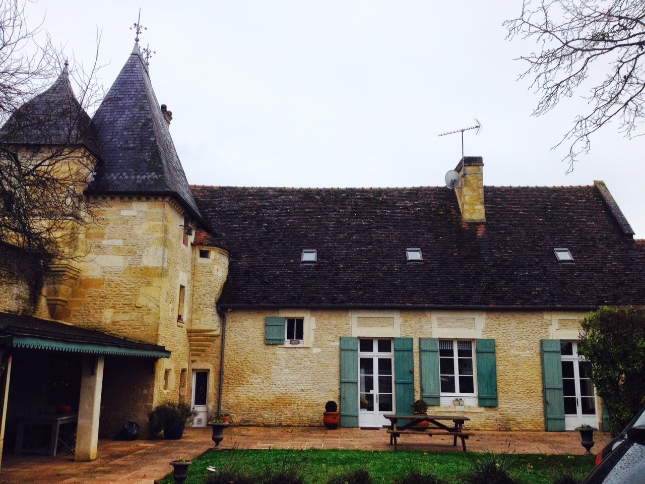 Manoir de Beaurepaire en Normandie