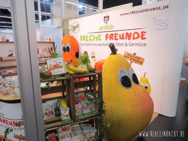 Freche Freunde auf der BIOFACH Messe Nürnberg 2015 rehlein backt