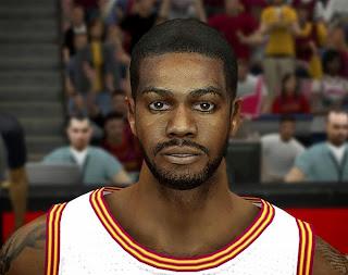NBA 2K14 Earl Clark Cyberface Mod