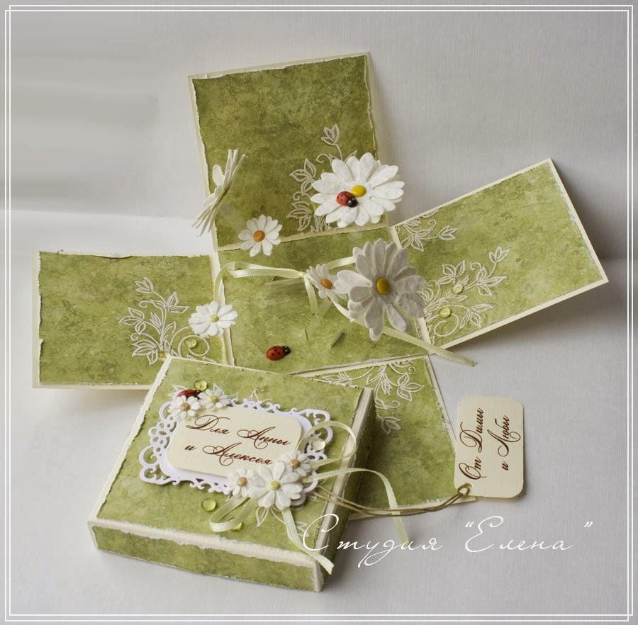 Мagic-box, коробочка для денежного подарка