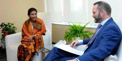 Duta Besar Norwegia untuk Indonesia Stig Traavik