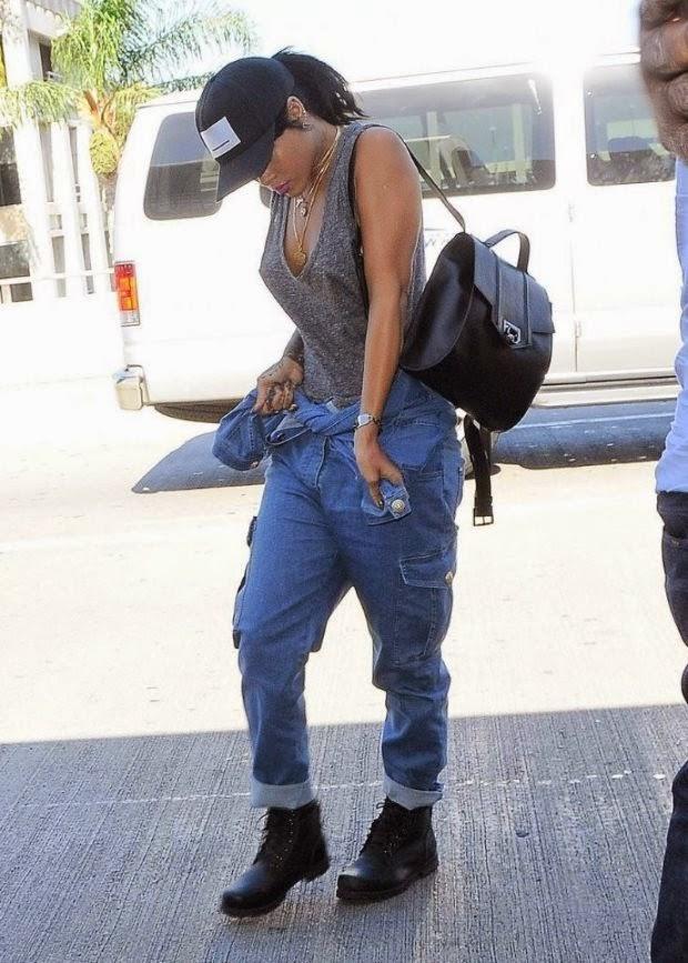 Street Style_Rihanna, Street Style, celebrity style