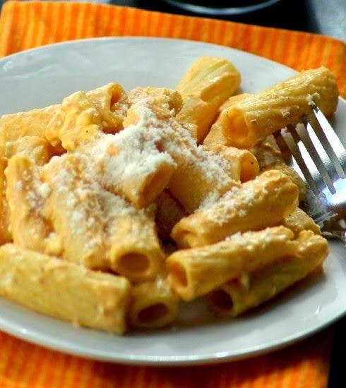 Creamy Squash Rigatoni