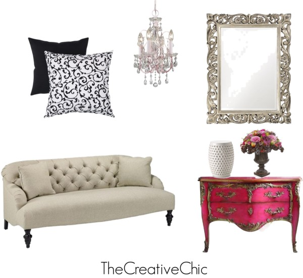 Eclectic and whimsical home decor thecreativechic for Whimsical decor