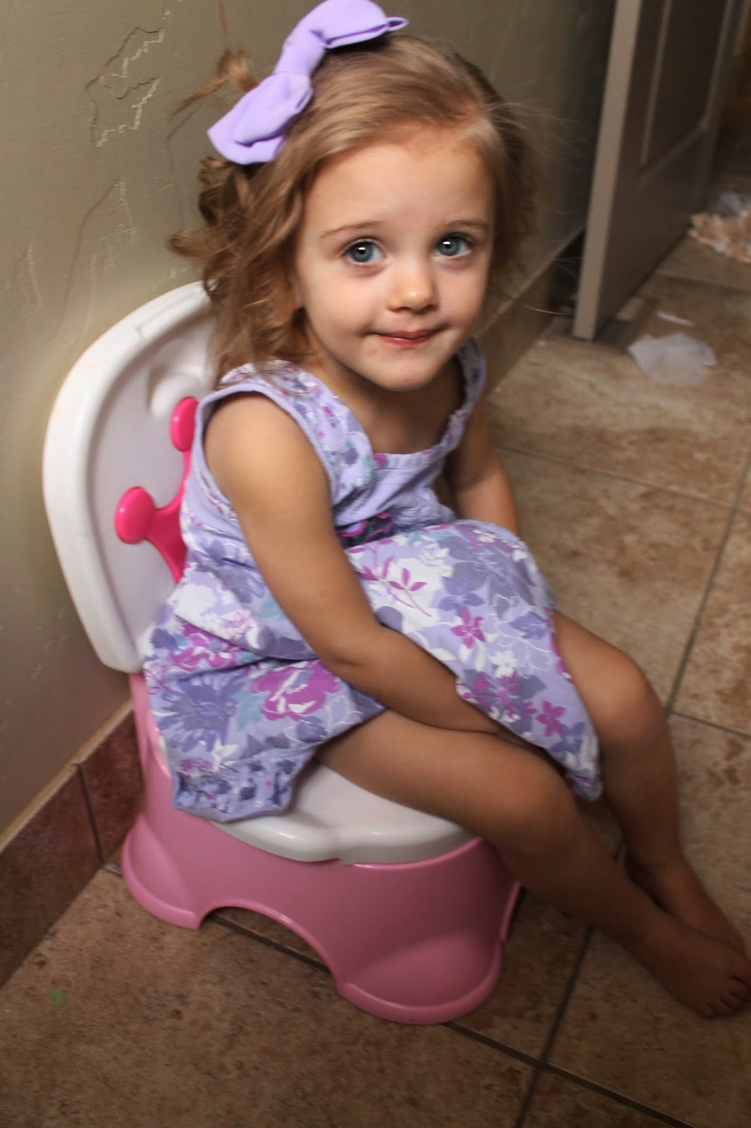 Potty Trained Before 2 Mommy S Little Sunshine
