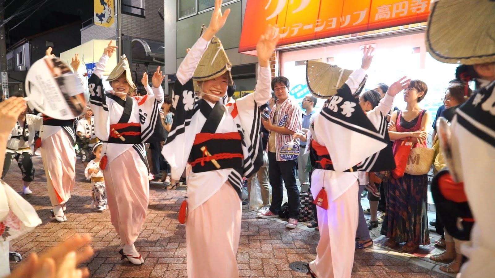 高円寺阿波おどり、東京天水連の動画を見る