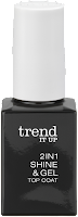 Preview: Die neue dm-Marke trend IT UP - 2in1 Shine & Gel Top Coat - www.annitschkasblog.de
