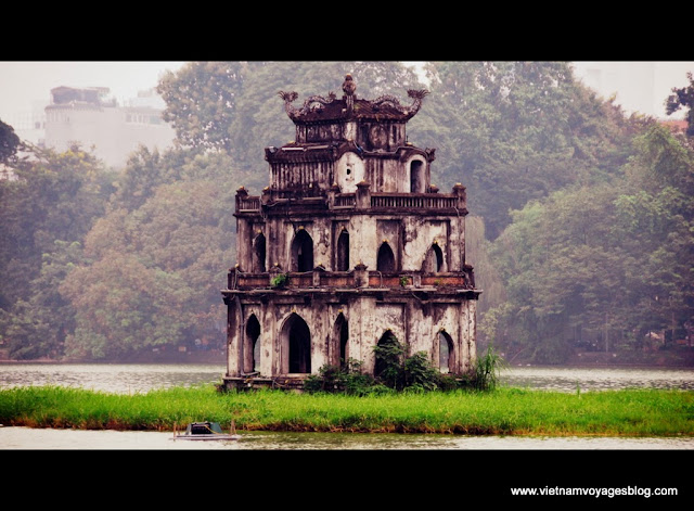Le matin au lac Hoan Kiem, Hanoi - Photo An Bui