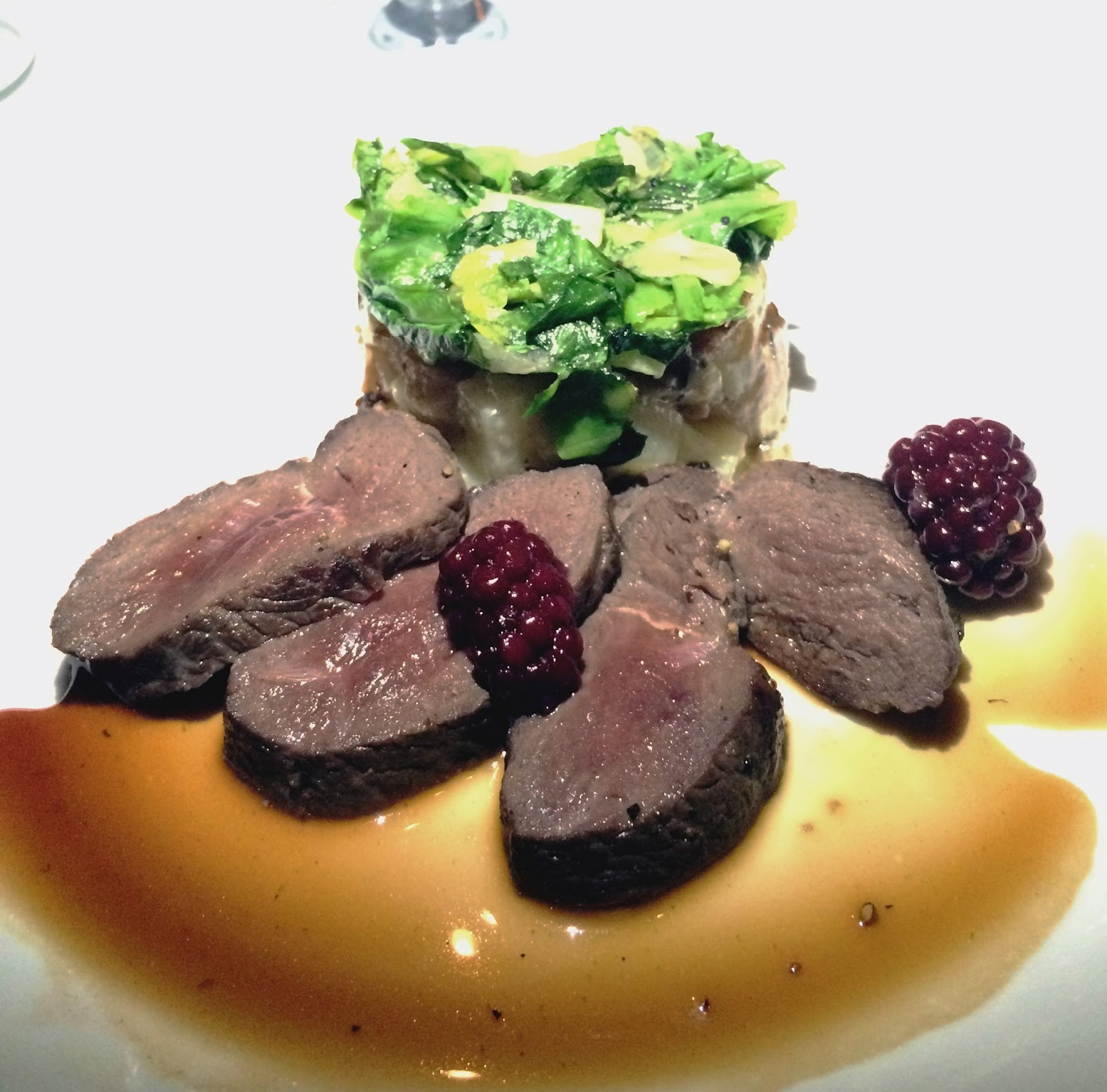 venison  at Watermark in the Gulch in Nashville, Tennessee