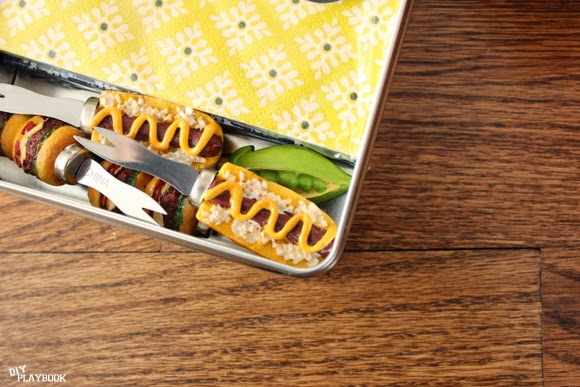 napkins: How to Organize Grill Supplies | DIY Playbook