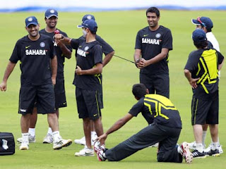Indian Team Practicing Ahead Of 2nd test