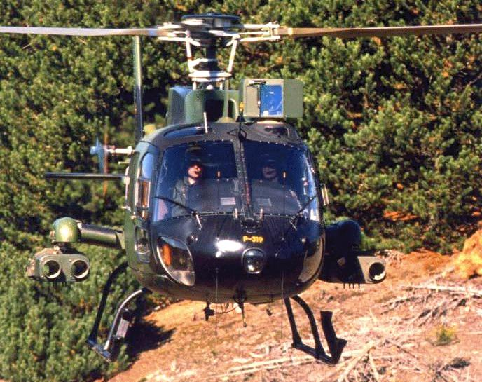 AS 550 Fennec Anti-Tank Helicopter