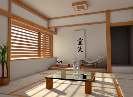 interior rumah jepang