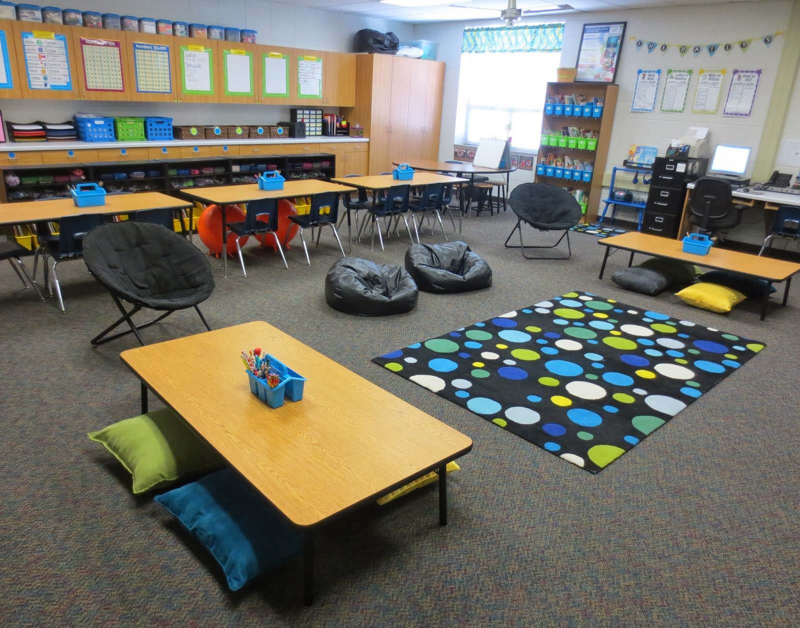 Sharp in Second: Alternative Seating in My Classroom