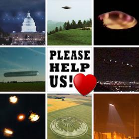 Uitnodiging aan de Galactische Federatie om ons te Helpen