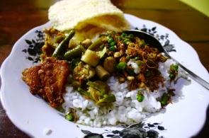 Kuliner Sambal Lucu khas suku Using, Banyuwangi