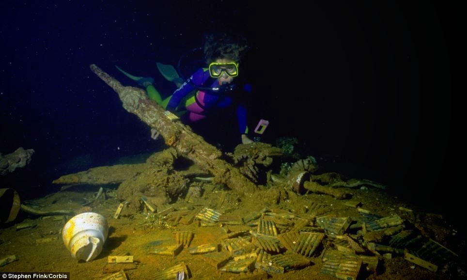 Islas Chuuk, el mayor cementerio de barcos del mundo