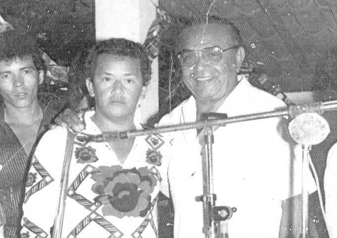 CHICO AMARO E O REI DO BAIÃO LUIZ  GONZAGA