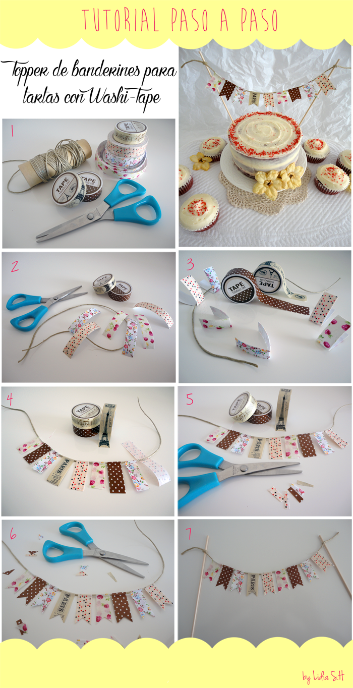 red-velvet-tarta-cupcakes-tutorial-topper-banderines-washi-tape