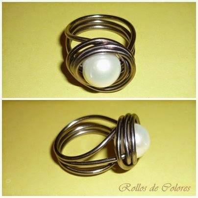 DIY anillo alambre