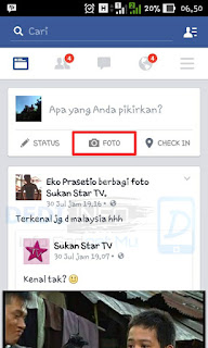 Upload Video di Facebook