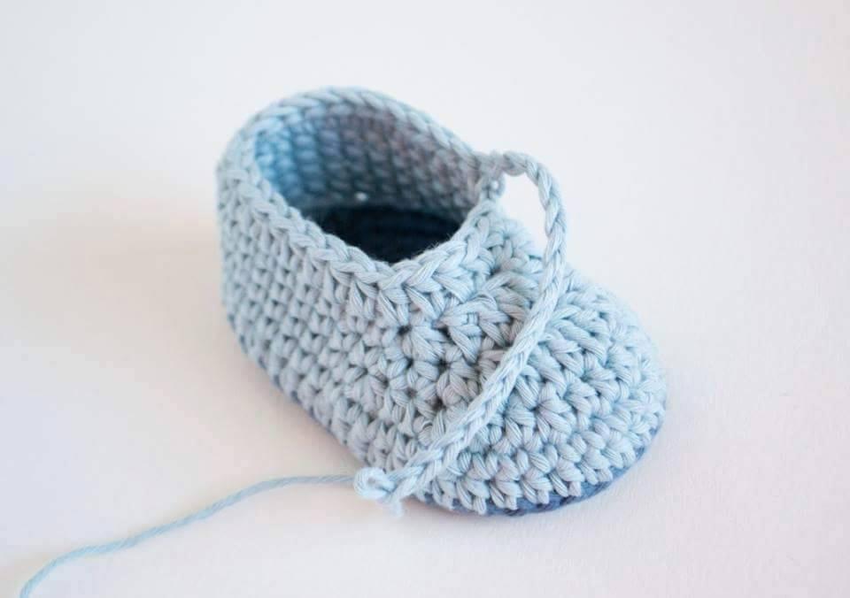Tutorial #108: Zapatitos a Crochet - FotoTutorial ~ CTejidas [Crochet ...