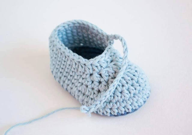 Zapatitos a Crochet - FotoTutorial
