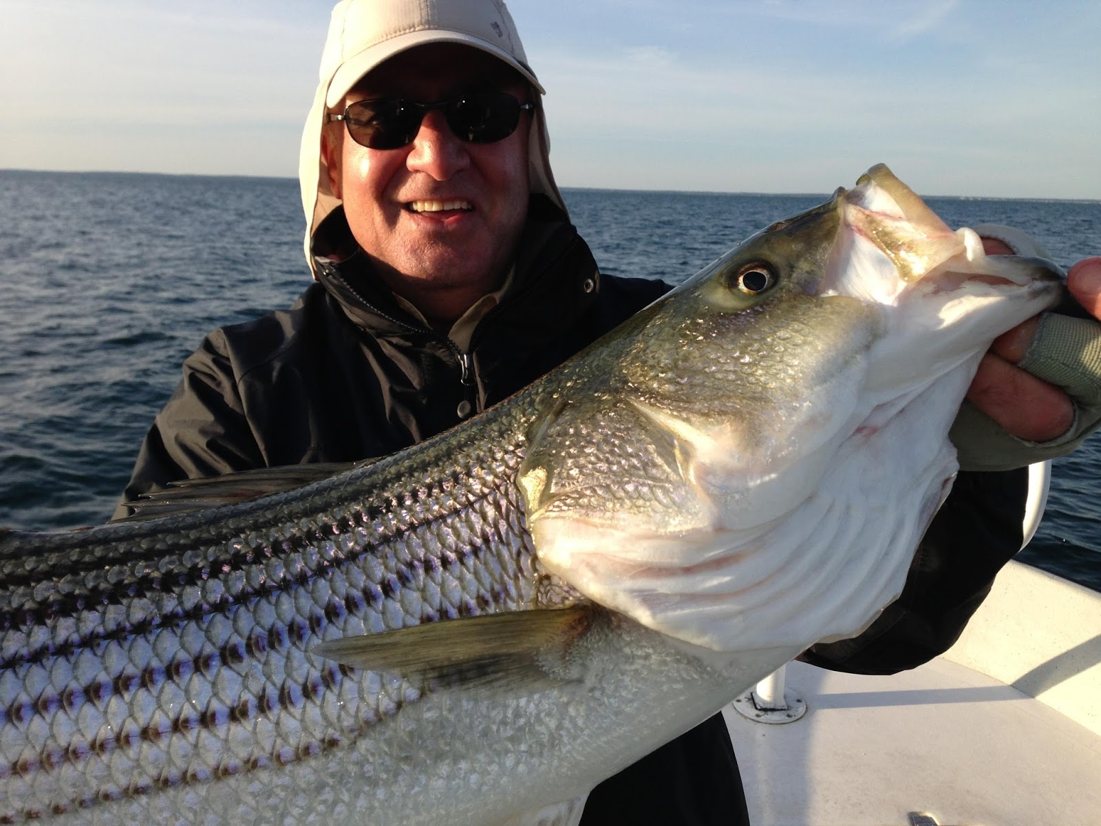 Maine striped bass fishing for Maine bass fishing