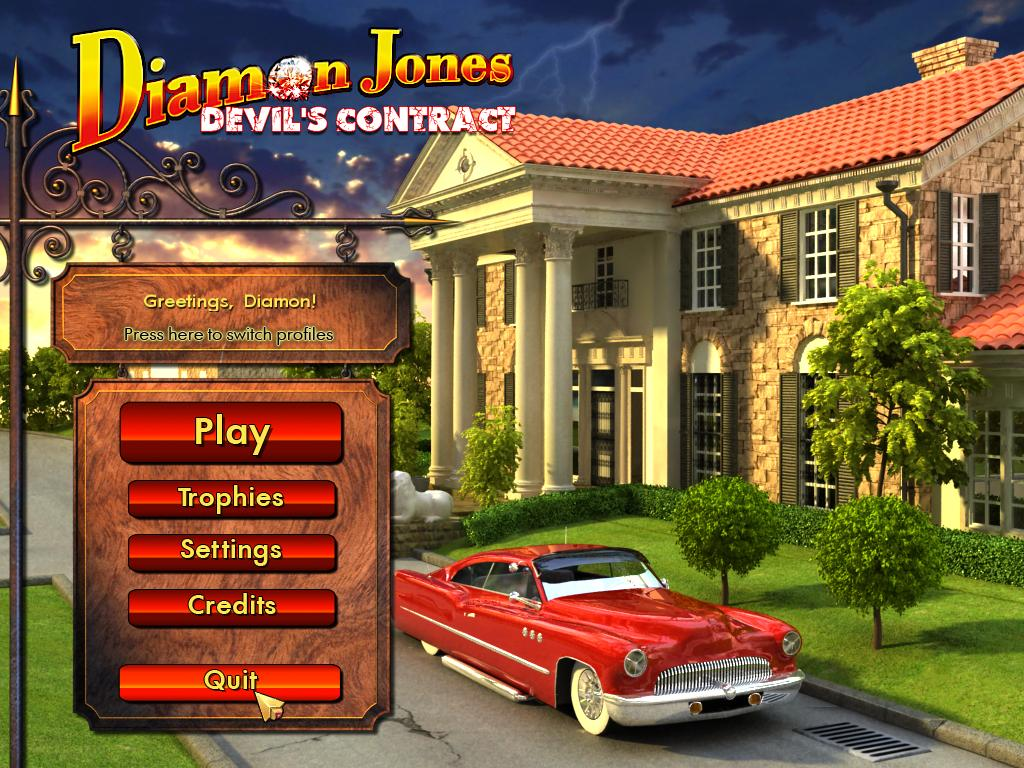 Diamon jones devil39s contract hidden object games by big fish