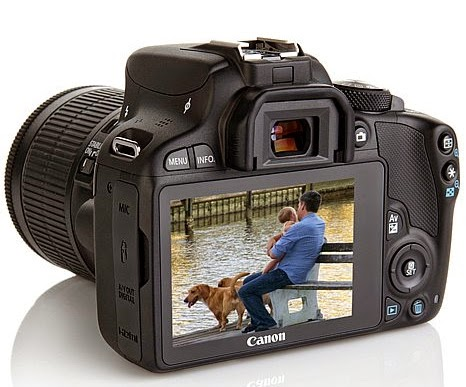 Canon EOS Rebel SL1, EOS Kiss X7, small DSLR, new Hybrid CMOS AF II, Full-HD video, optical viewfinder,
