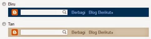 cara hidden dan menyembunyikan menu navbar bawaan blogger
