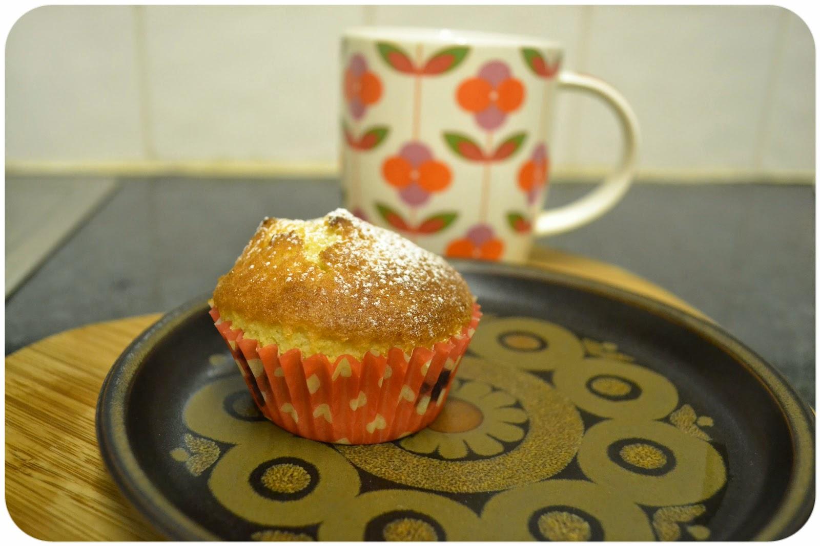 Chokeberry cupcakes