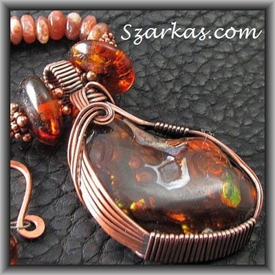 cabochon wire work – border wire wrapping tips