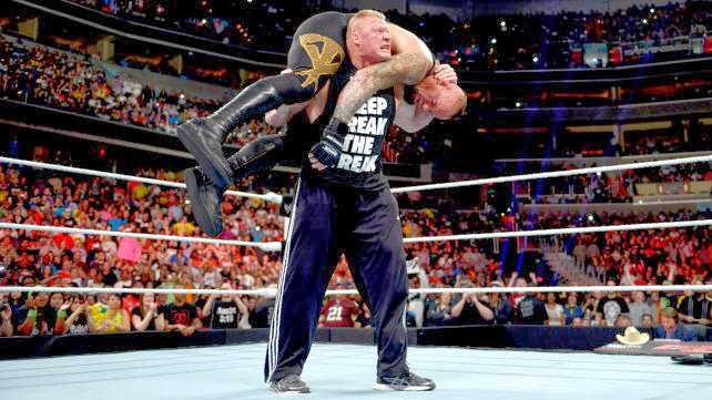 The Undertaker vs Brock Lesnar WrestleMania 30 XXX New Orleans The Streak 22-0 21-1 Paul Heyman F5